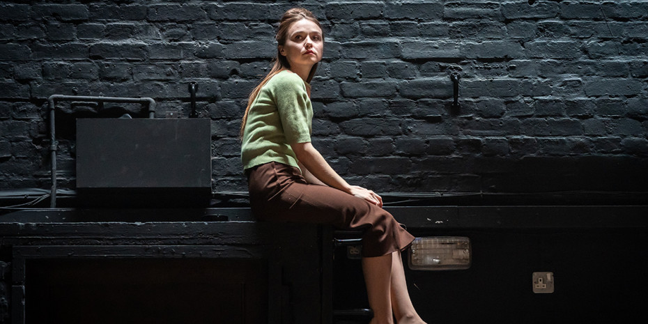 Jessica Barden in Pinter Four. Photo credit: Marc Brenner.