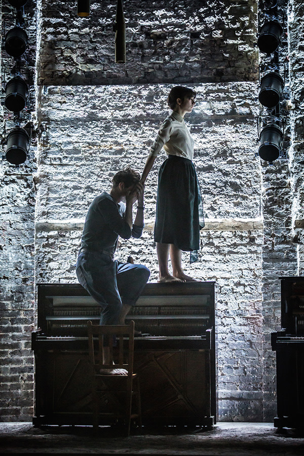 Matthew Needham and Patsy Ferran in Summer And Smoke (Photo: Marc Brenner)