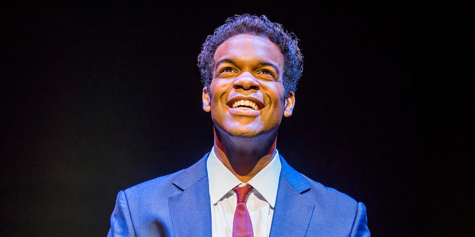 Jay Perry (Berry Gordy) in Motown The Musical (Photo: Tristram Kenton)