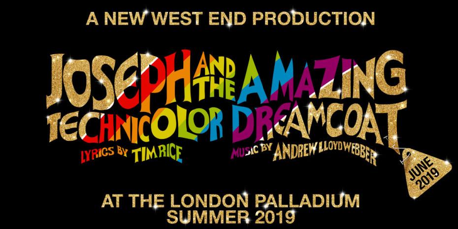 Joseph And The Amazing Technicolour Dreamcoat at the London Palladium