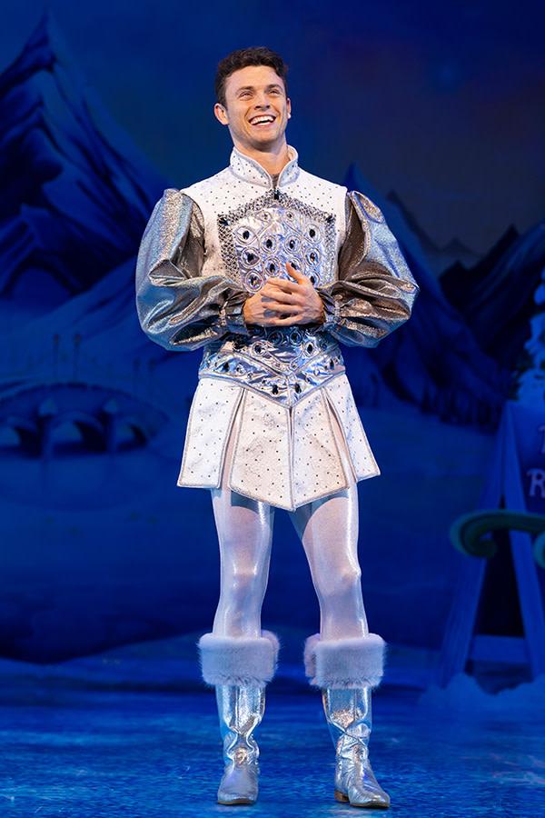Charlie Stemp in Snow White (Photo: Paul Coltas)