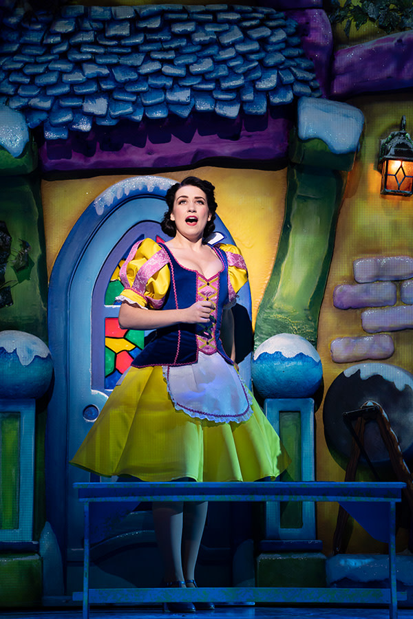 Danielle Hope in Snow White (Photo: Paul Coltas)