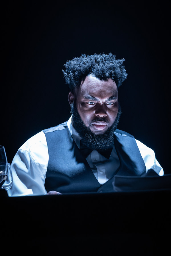 Abraham Popoola in Pinter Six (Photo: Marc Brenner)