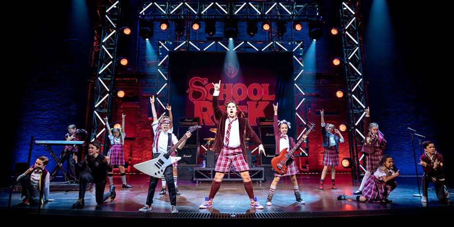 The cast of School Of Rock The Musical