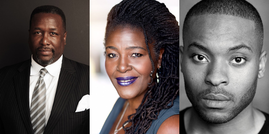 Wendell Pierce, Sharon D Clarke (Photo: Darren Bell) & Arinzé Kene will star in Death Of A Salesman at the Young Vic
