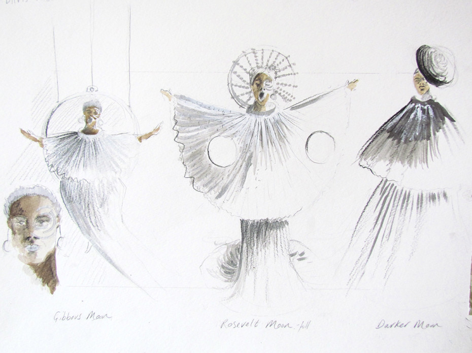 Caroline Or Change costume designs (Credit: Fly Davis)