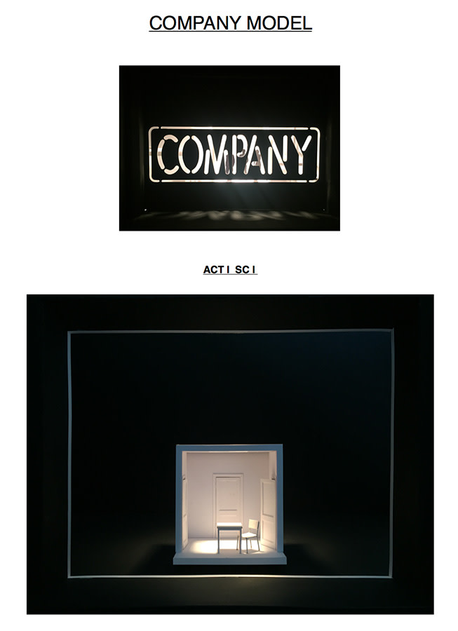 Company set designs (Credit: Bunny Christie)