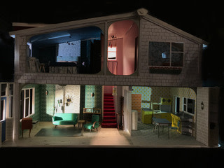 Anna Fleischle's set designs for Home, I'm Darling (Credit: Anna Fleischle)