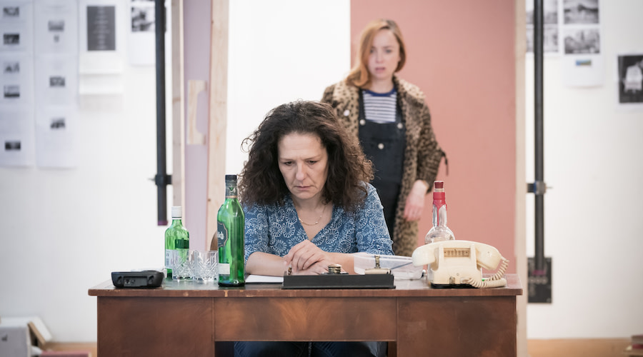 Caroline Loncq Deirdre in rehearsals for Jude at Hampstead Theatre. Photo credit Marc Brenner