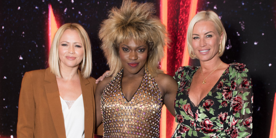 Kimberley Walsh, Nkeki Obi-Melekwe and Denise Van Outten - photo Craig Sugden