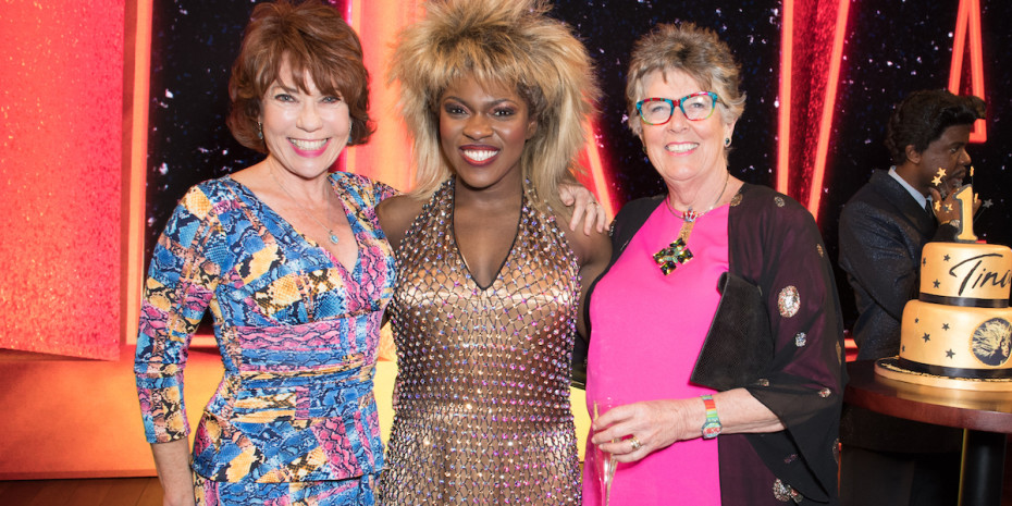 Kathy Lette, Nkeki Obi-Melekwe and Prue Leith - photo Craig Sugden