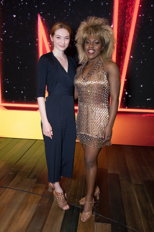 Eleanor Tomlinson and Nkeki Obi-Melekwe - photo Craig Sugden