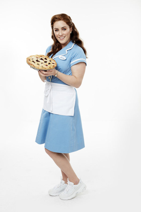Lucie Jones as Jenna in Waitress