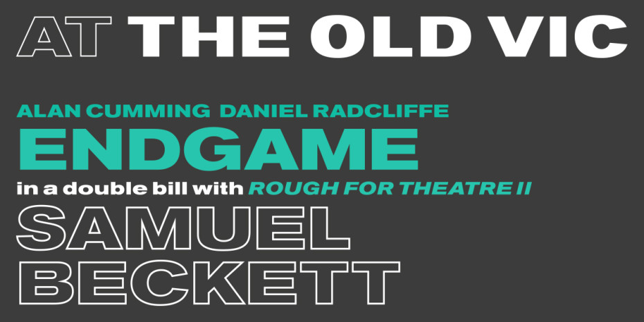 Artwork for Endgame play at The Old Vic
