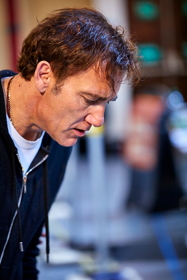 Clive Owen in rehearsal for The Night Of The Iguana (Photo: Brinkhoff/Moegenburg)