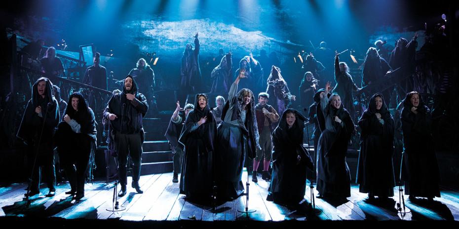 Les Misérables The Staged Concert Company - Photograph Matt Murphy