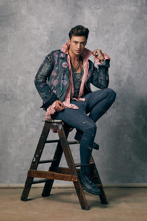 & Juliet, Jordan Luke Gage as Romeo