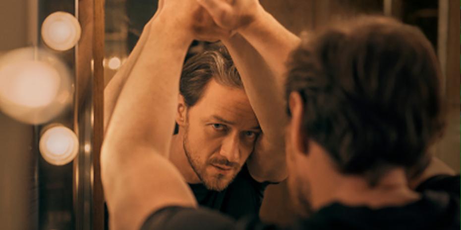 James McAvoy as the Cyrano de Bergerac