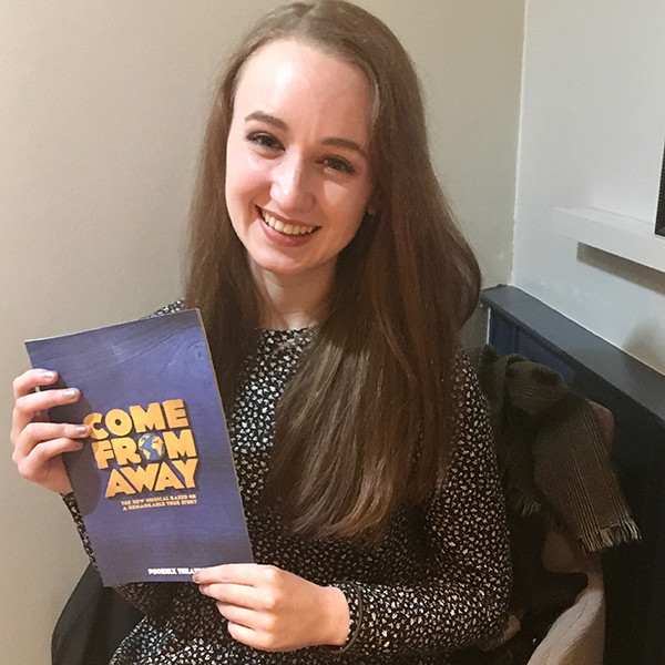 Pippa at Come From Away