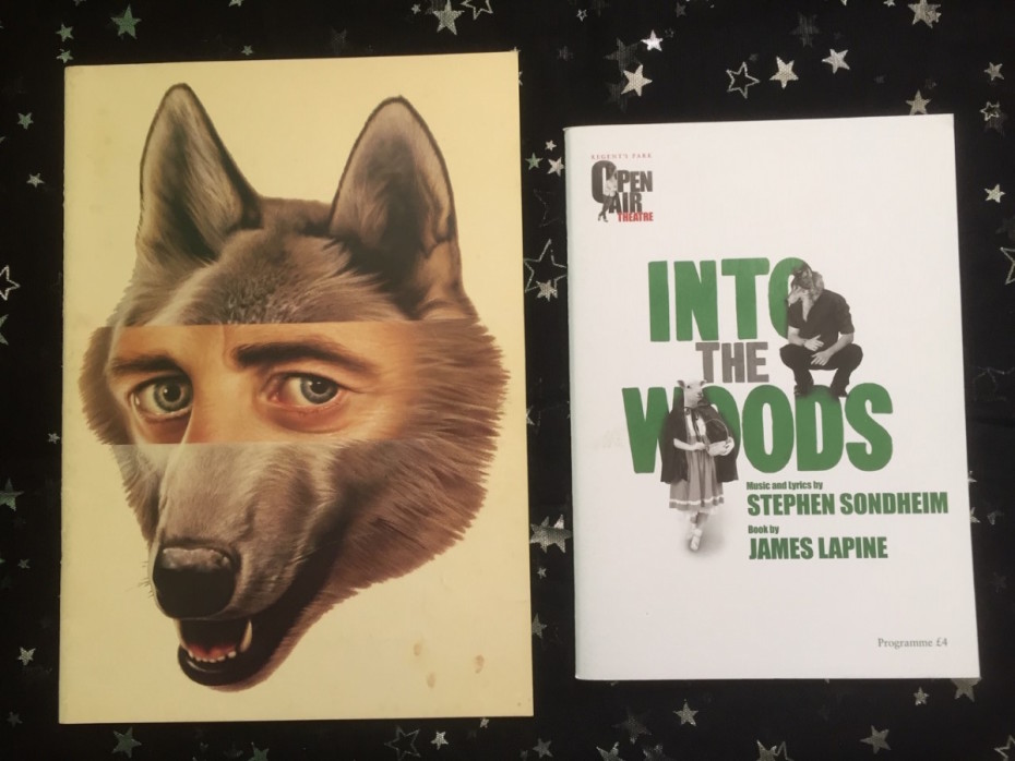 Into The Woods programmes