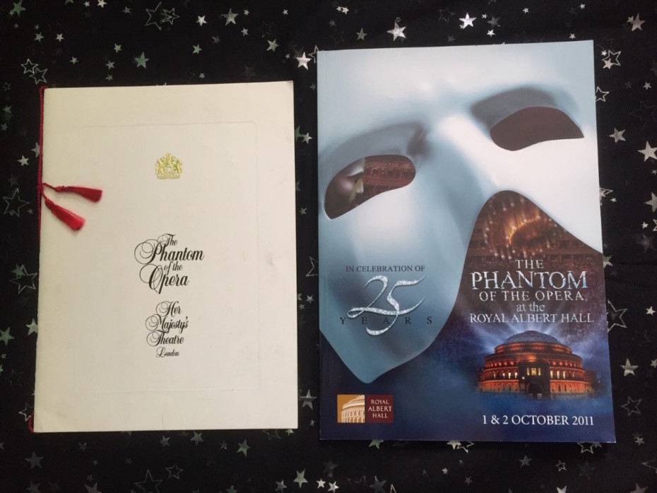 The Phantom Of The Opera programmes