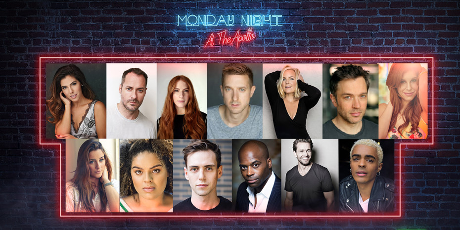 London shows 2021: A collage of images showing the cast of Monday Night At The Apollo