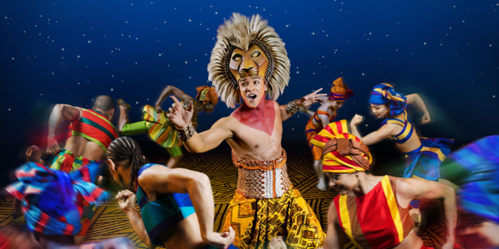 Disney's LionKing at The Lyceum Theatre (Photo: Dewynters Photography)