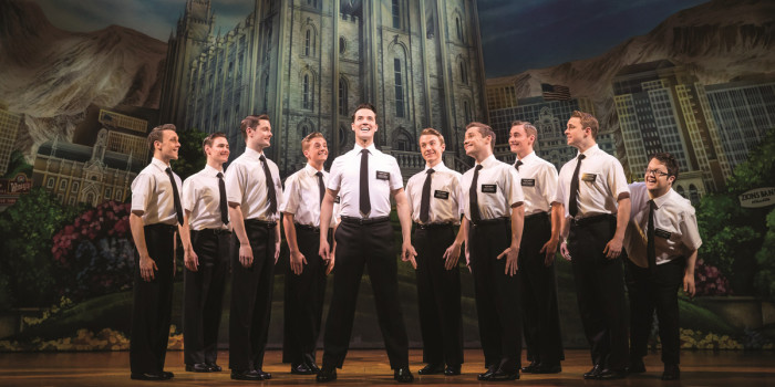 The Book Of Mormon, London, at The Prince of Wales Theatre (Photo: Johan Persson)