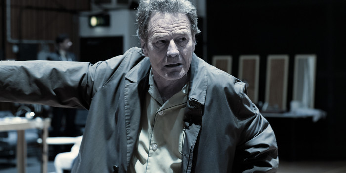 Rehearsals for Network at the National Theatre (Photo: Bryan Cranston in rehearsals for Network at the National Theatre (Photo: Jan Versweyveld)