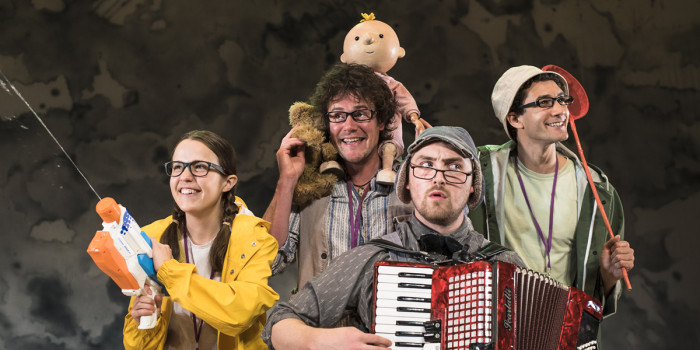 We're Going On A Bear Hunt at Shaftesbury Theatre (Photo: Lesley Cook)