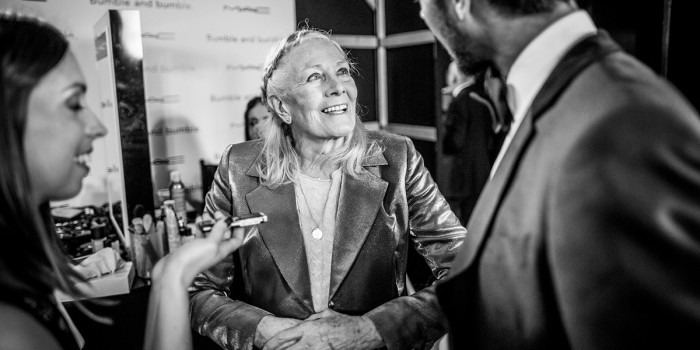 Vanessa Redgrave at the Olivier Awards 2016 with Mastercard (Photo: David Levene)