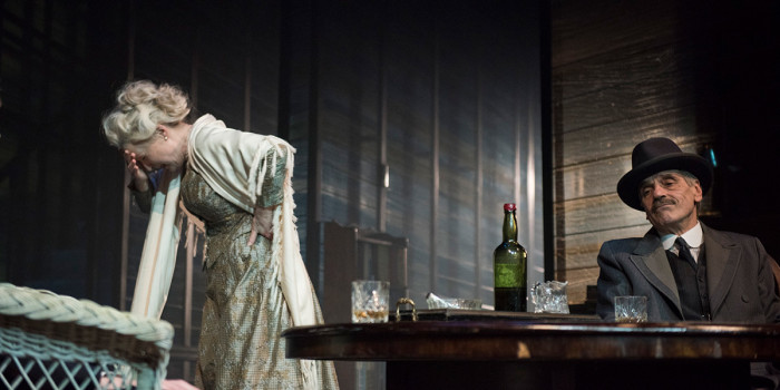 Jeremy Irons and Lesley Manville in Long Day's Journey Into Night (Photo: Hugo Glendinning)