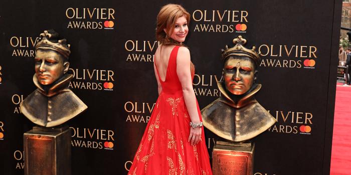 Cassidy Janson on the Olivier Awards 2018 with Mastercard red carpet (Photo: Pamela Raith)
