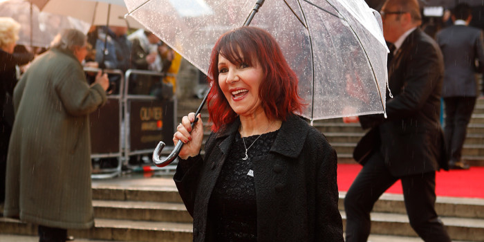 Arlene Phillips on the Olivier Awards 2018 with Mastercard red carpet (Photo: Pamela Raith)