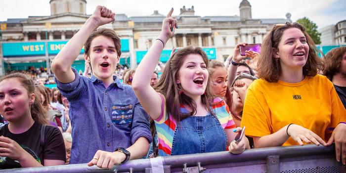 The crowds at West End LIVE 2018 (Photo: Pamela Raith)