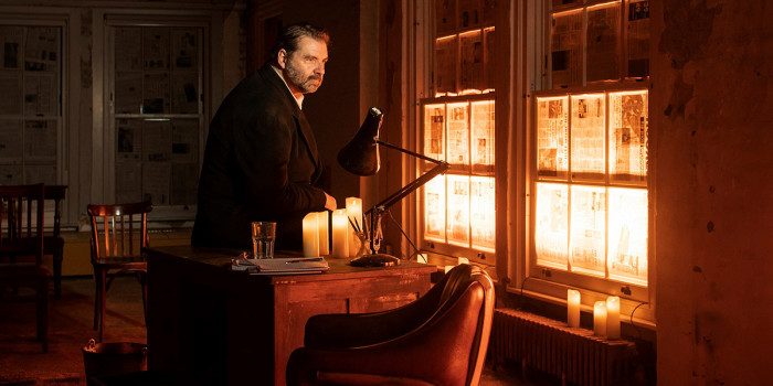Brendan Coyle in St Nicholas (Photo: Helen Maybanks)