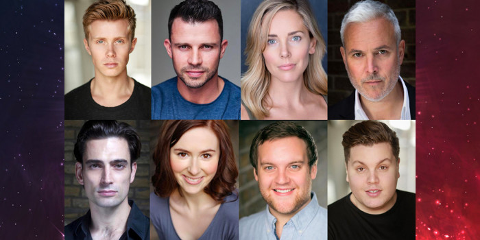 Rob Houchen, NeiL McDermott, Emily Tierney, Alex Bourne, Simon Thomas, Laura Baldwin, Daniel Buckley & Scott Paige