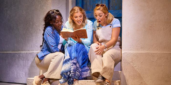 The London cast of Mamma Mia!