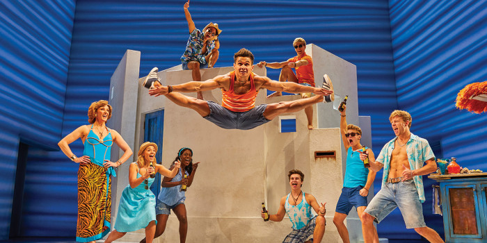 The London cast of Mamma Mia!