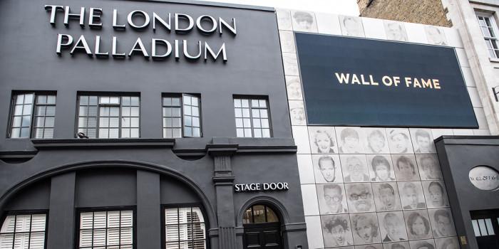 The London Palladium Wall of Fame (Photo: Craig Sugden)