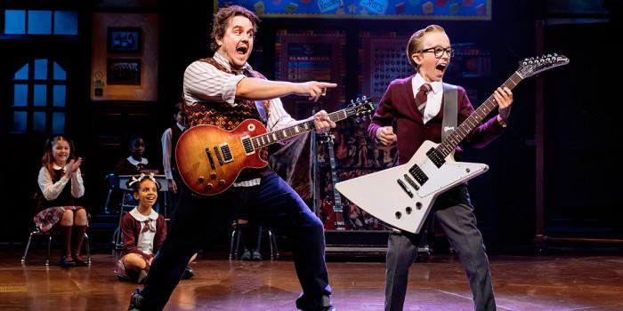Craig Gallivan and Amos Mayland in School Of Rock (Photo: Manuel Harlan)