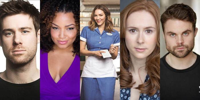 David Hunter, Marisha Wallace, Katharine McPhee, Laura Baldwin and Peter Hannah will star in Waitress