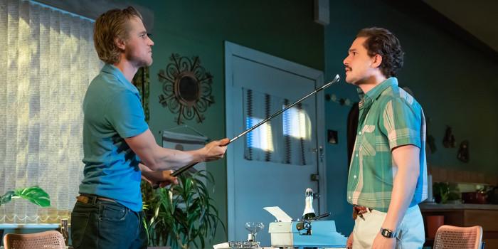 Johnny Flynn and Kit Harington in True West (Photo: Marc Brenner)
