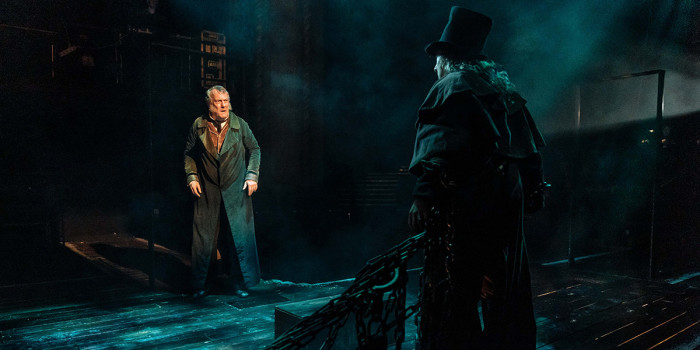 Stephen Tompkinson in A Christmas Carol at The Old Vic (Photo: Manuel Harlan)