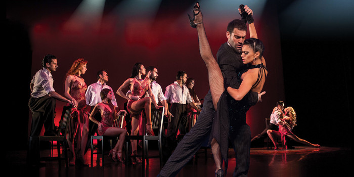 Tango Fire at Peacock Theatre
