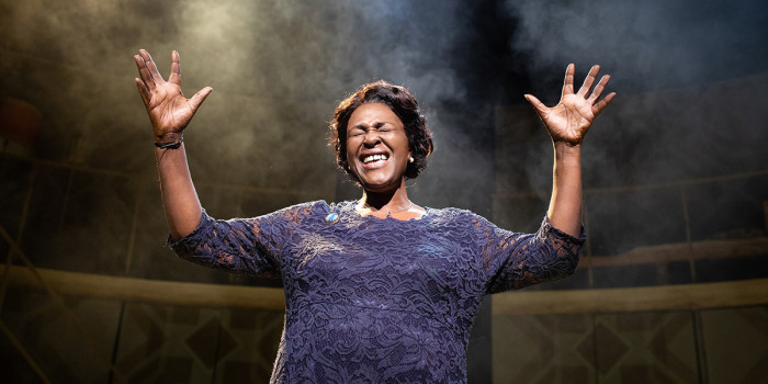 Sharon D Clarke in Caroline, Or Change at Playhouse Theatre (Photo: Helen Maybanks)