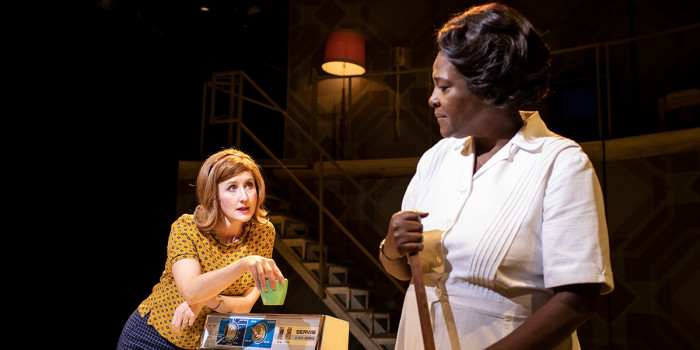 Lauren Ward and Sharon D Clarke in Caroline, Or Change at Playhouse Theatre (Photo: Helen Maybanks)
