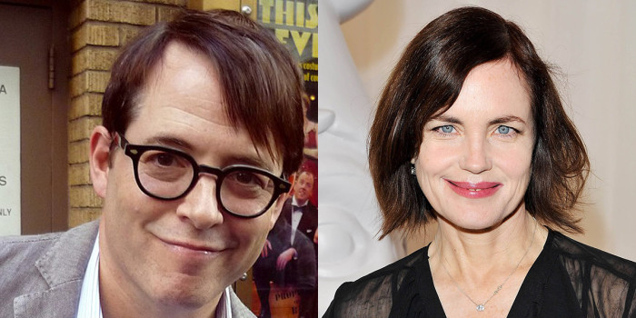 Matthew Broderick and Elizabeth McGovern (Photo: Dave M. Benett/Getty Images)