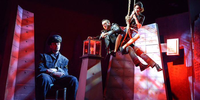 The Comedy About A Bank Robbery at Criterion Theatre (Photo: Robert Day)