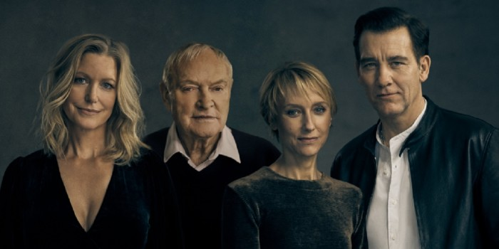 Anna Gunn, Julian Glover, Lia Williams and Clive Owen in The Night Of The Iguana at the Noël Coward Theatre